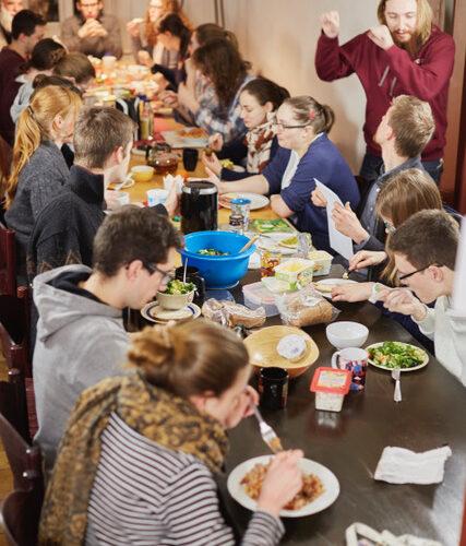 Franckesche Stiftungen Halle Saale, ein Tag im Konvikt